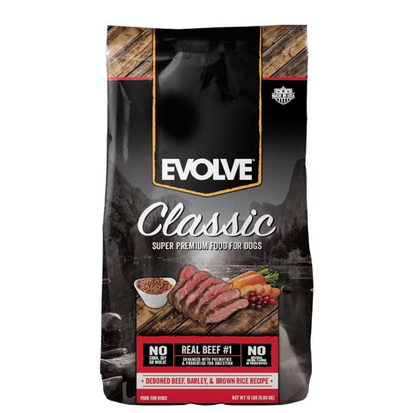 Evolve-Classic-Beef-DogFood 1