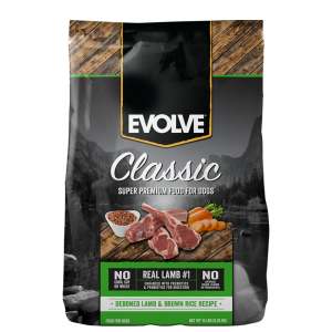 Evolve-Classic-Lamb-DogFood 1