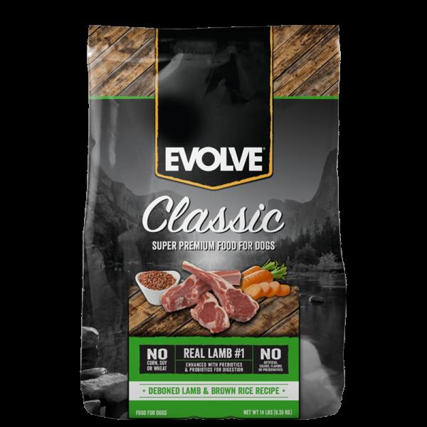 Evolve-Classic-Lamb-DogFood 1