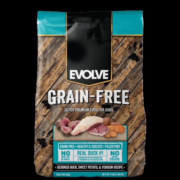 Evolve-Grain-Free-Duck-DogFood 1