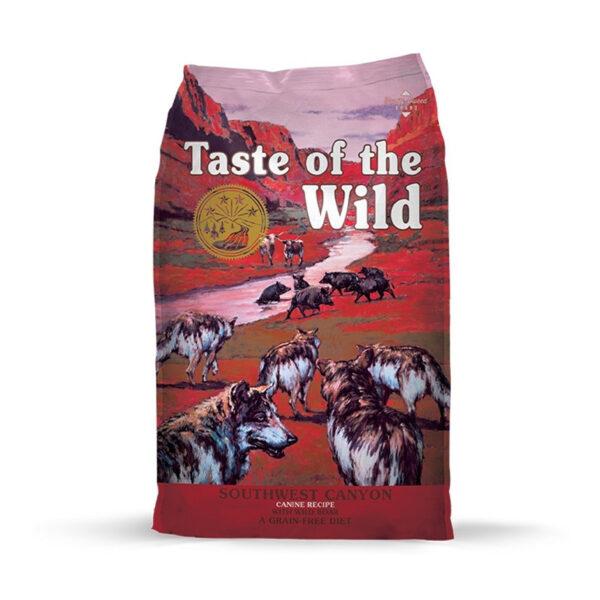 Southwest-Canyon-Canine-Jabali-Salvaje-Y-Cordero-Taste-of-the-Wild